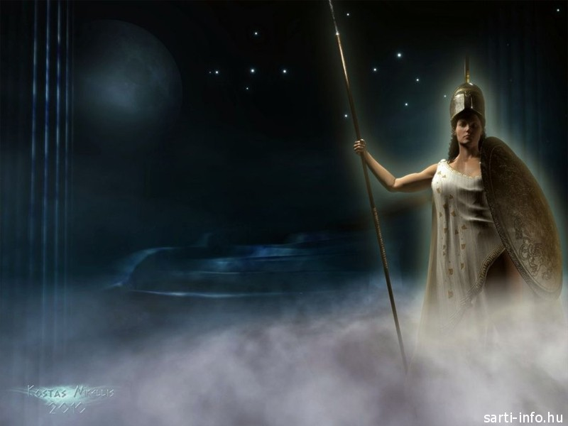 Pallas Athéné- görög isten