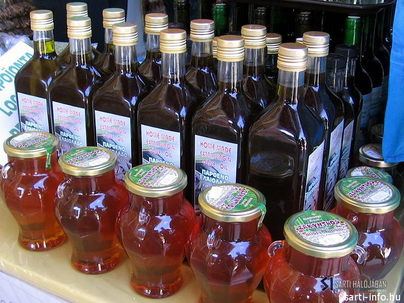 Görög olívaolaj vásár