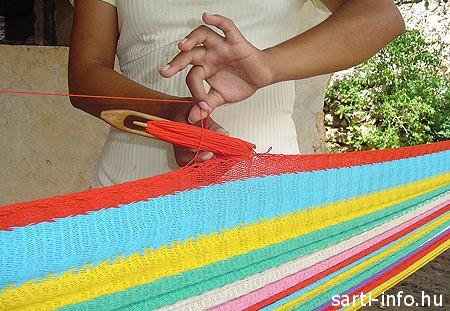 Függőágy készítés, Mexikó