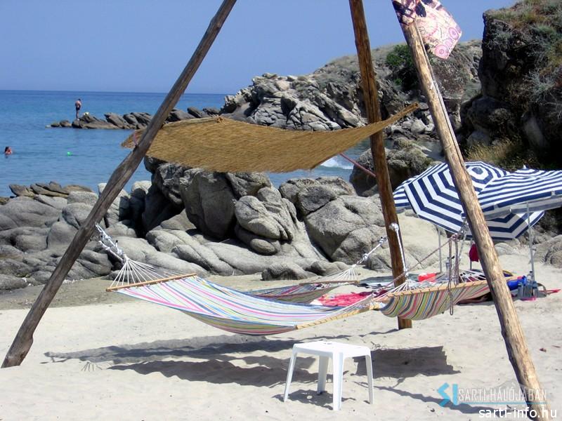 Függőágy, Sarti Beach