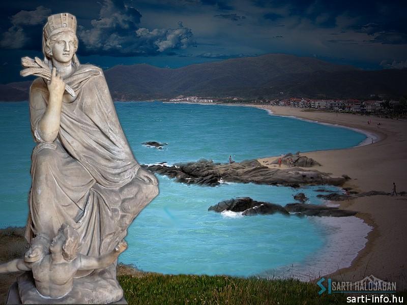 Tükhé szobor, Sarti
