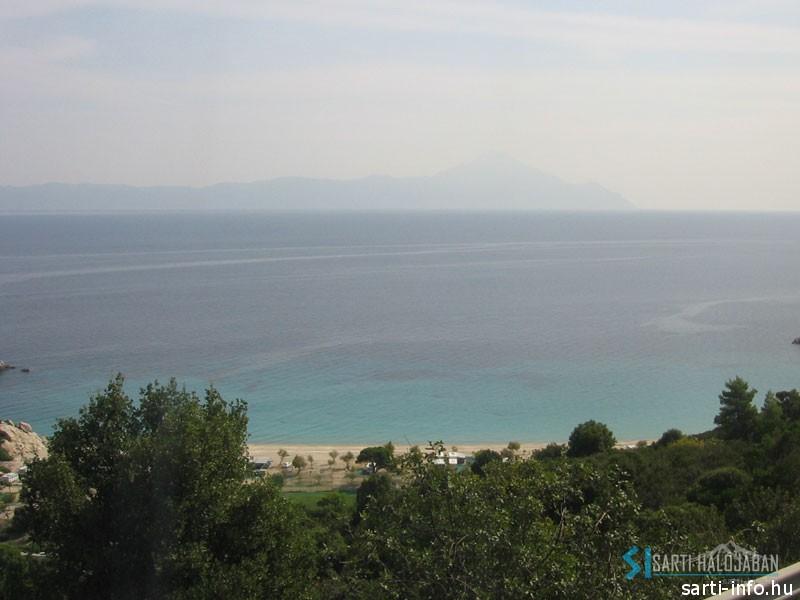 Az Athos-hegy útban Sarti felé