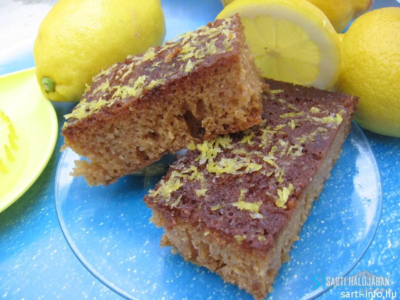 Citromos pite (λεμονοπιτα) Lemonopita