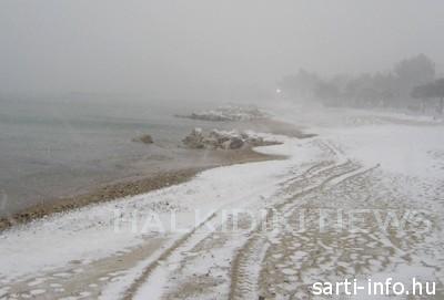 Sithonia télen