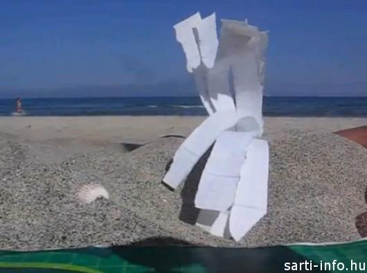 Cetlik a homokban