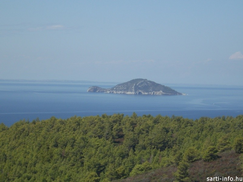 A Teknősbéka sziget Sarti közelében