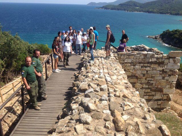 Túrázók az Athoszon (Új túra útvonalak Görögországban)