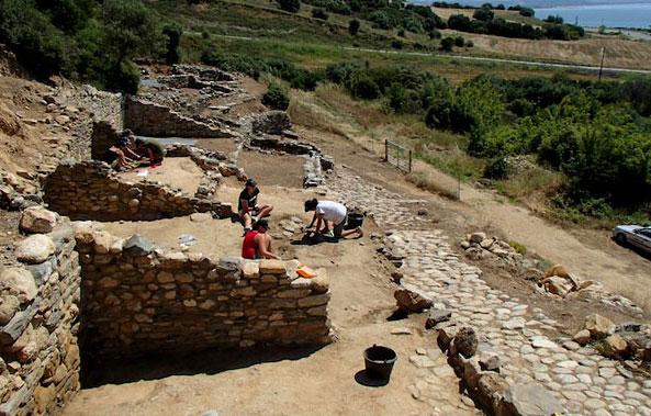 Régészeti munka Argiloszban