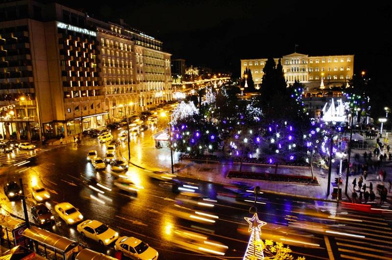 Szindagma tér, Athén
