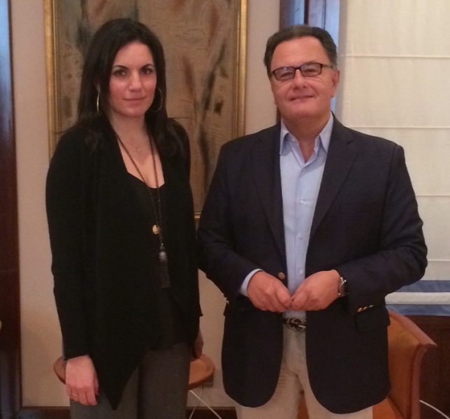 Olga Panos és Panos Panagiotopoulos