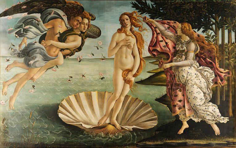 Sandro Botticelli - Vénusz Születése