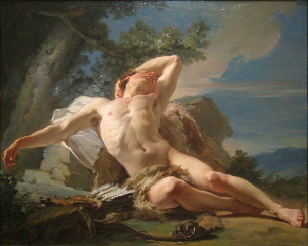 Nicolas-Guy Brenet: Alvó Endümion