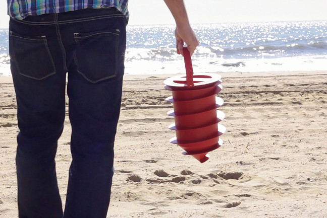 Beach Vault: strand széf