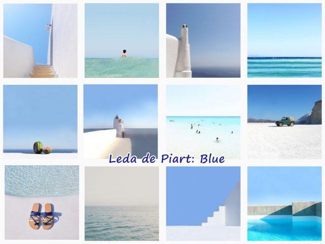 Leda de Piart: Blue