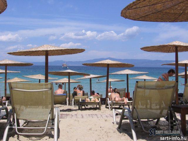 Rousso Beach, Görögország