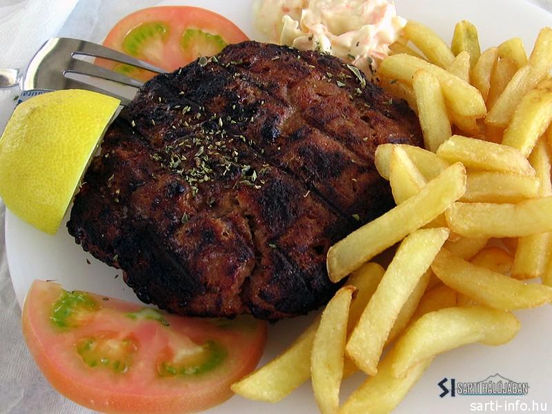 Bifteki, vagyis görög fasírt