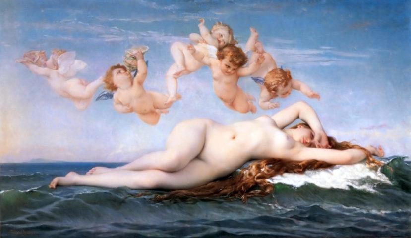Aphrodité, görög istennő