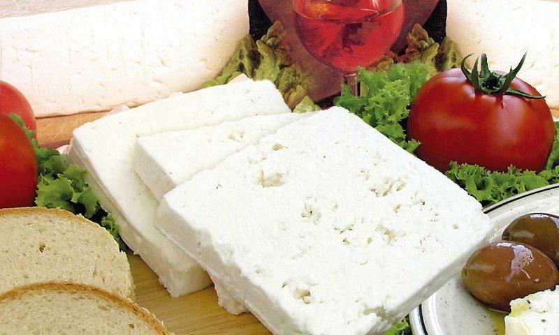 A görög Feta sajt