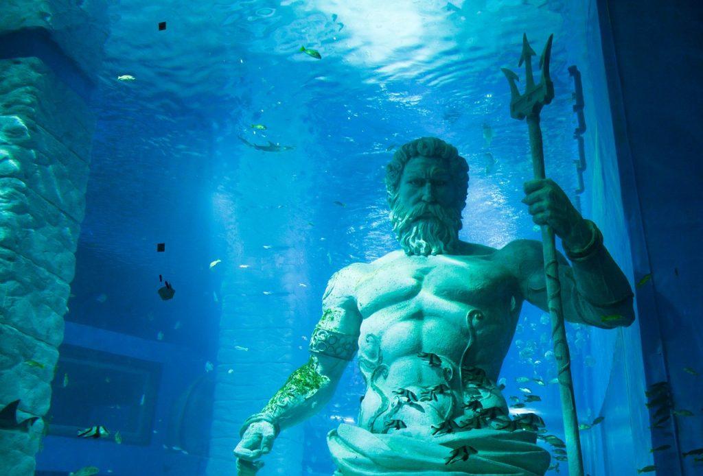 Poseidon görög Isten