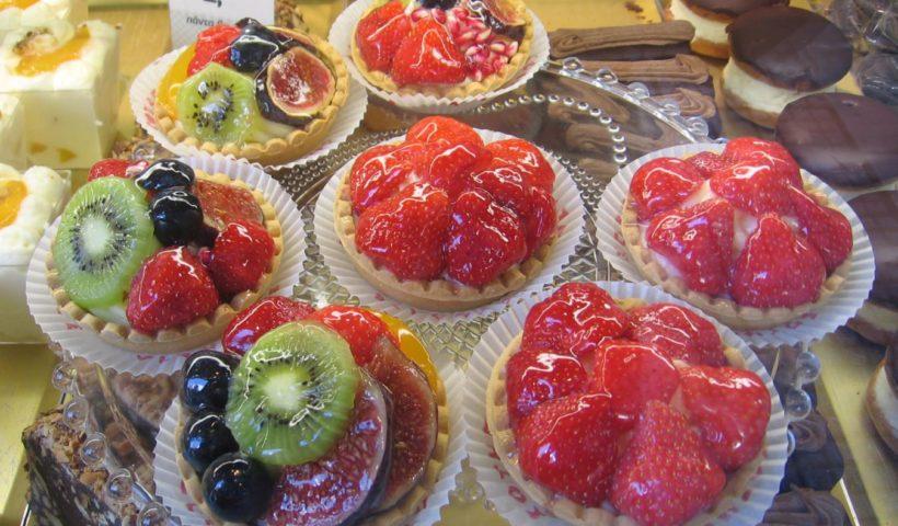 Saloniki cukrászsütemények