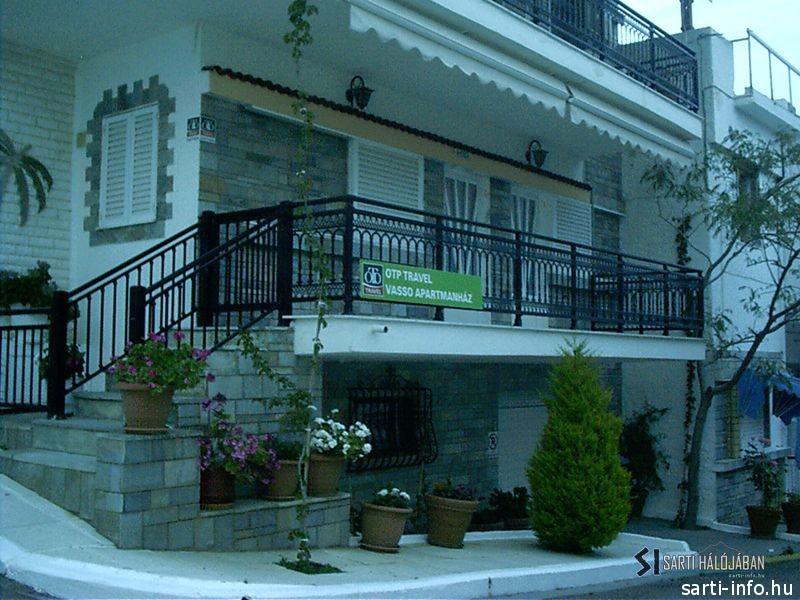 Vasso Apartmanház, Sarti