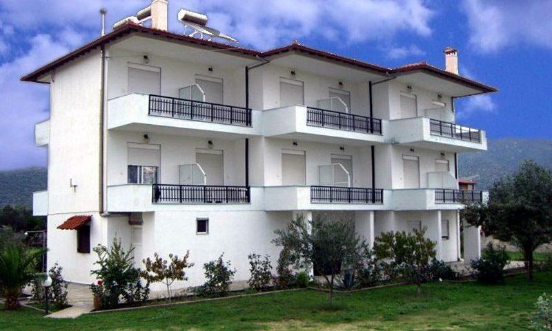 Vergina II. Apartmanház, Sarti