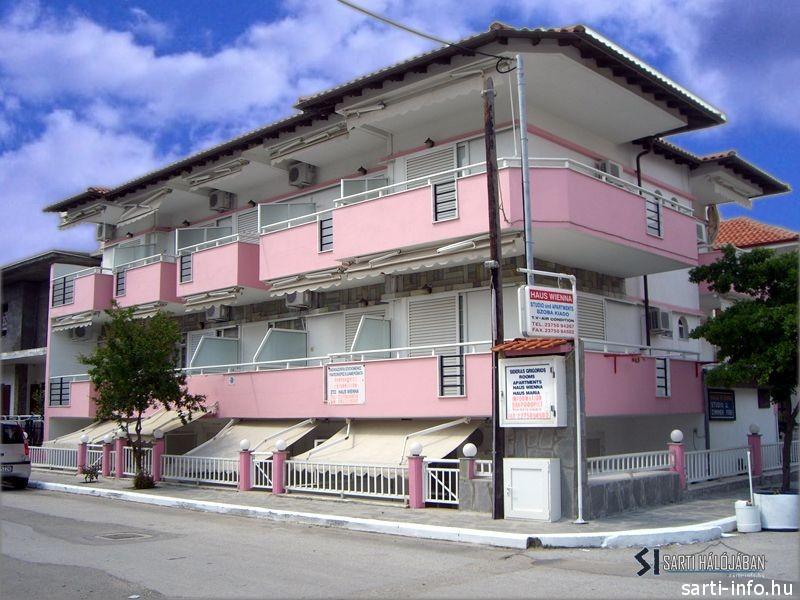 Wienna Apartman, Sarti