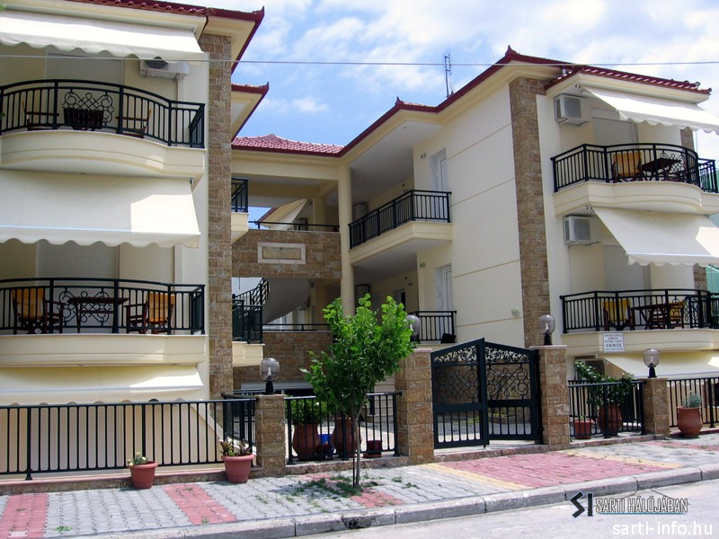 Hotel Ammos, Sarti