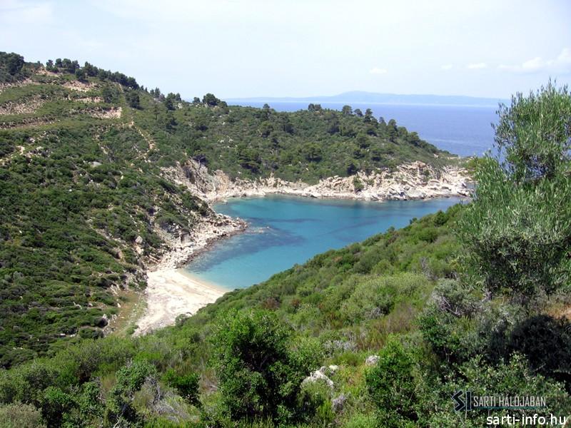 Kardia Beach, Sarti