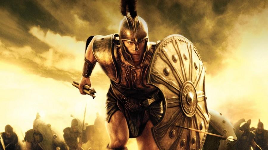 Akhilleusz, Trója