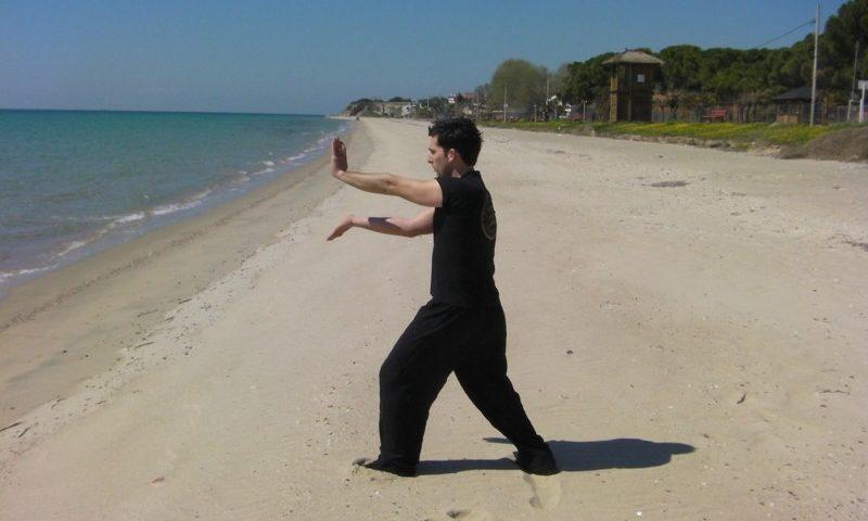 Wing Chung Kung Fu a tengerparton