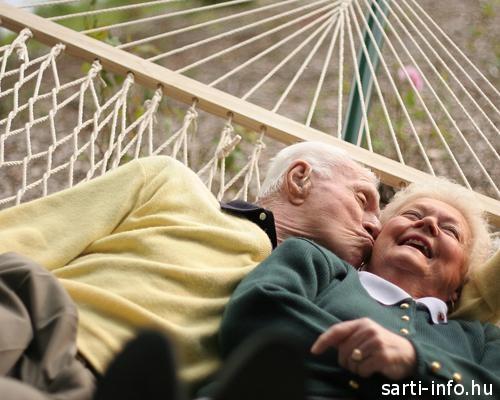 Függőágy, idős emberek
