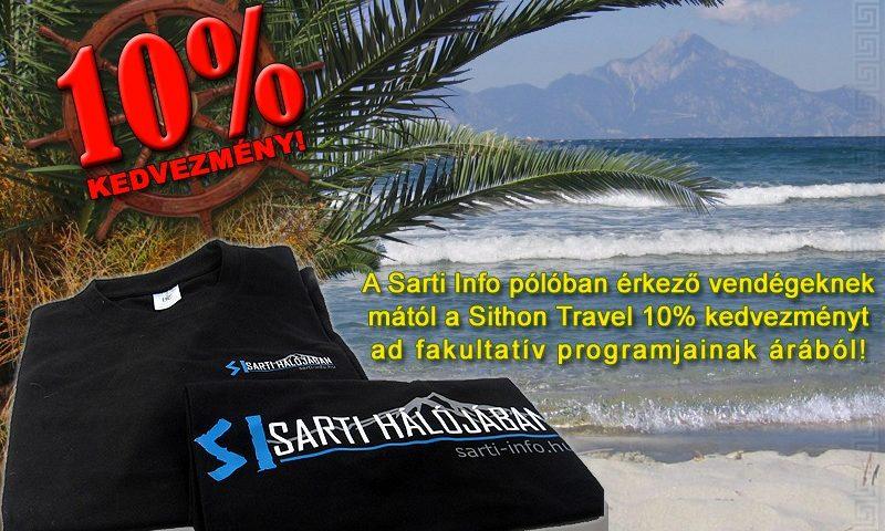Sarti Info póló akció