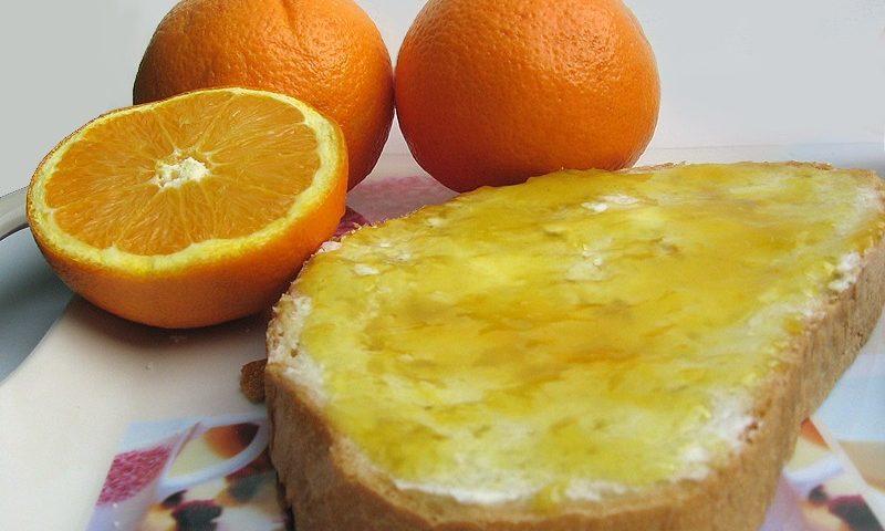 Narancs dzsem készítés