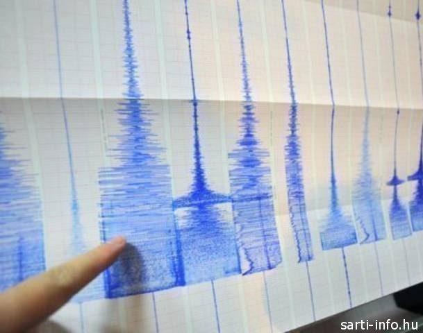 Földrengés szeizmográf
