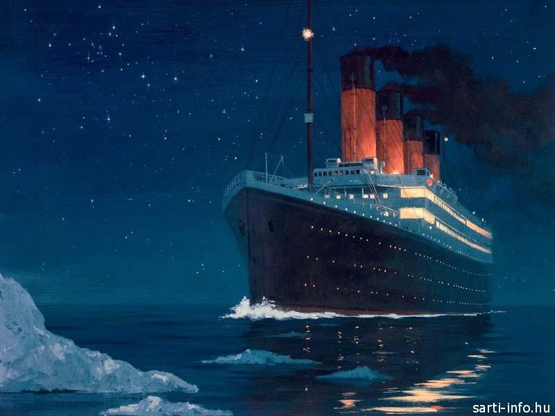 A Titanic és a jéghegy