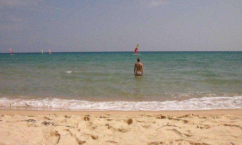 Tiszta vízű tengerpart