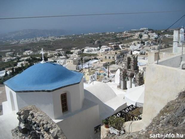 Santorini, Pirgos