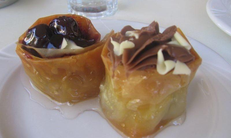 Görög mézes sütemények