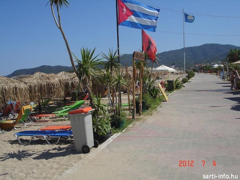 A Kék zászló Sartin