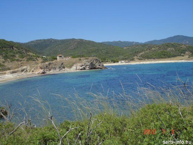Kék színű tenger