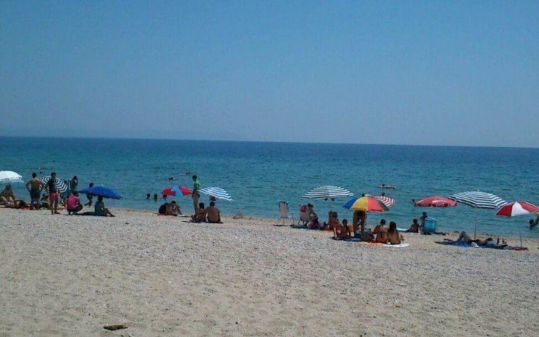 Asprovalta tengerpartja