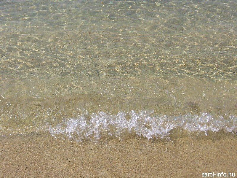 Kristálytiszta tengervíz