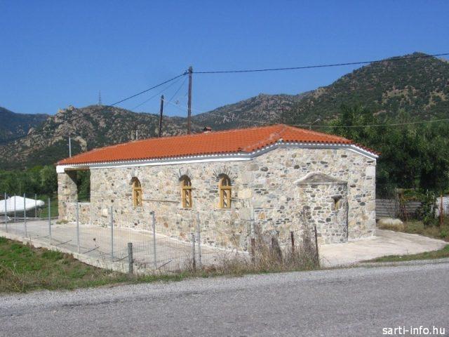 Kolostor Sykia közelében