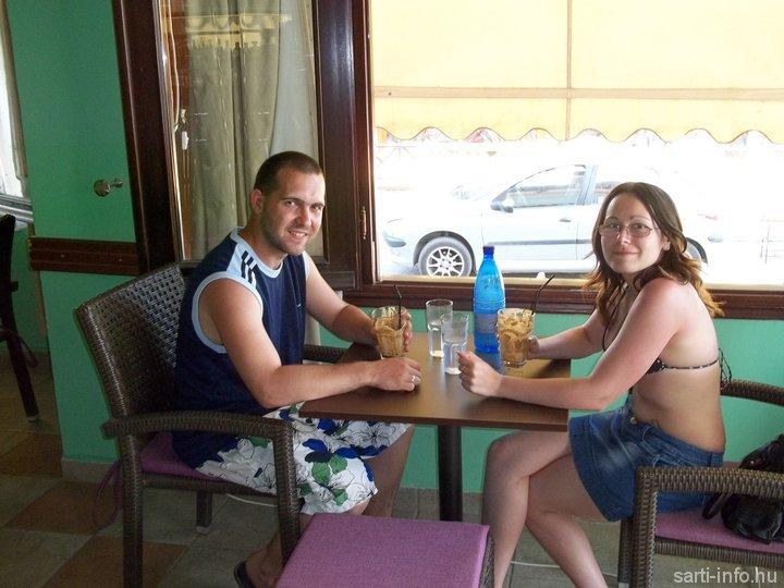 Ági és Laci a Cafe Papszban