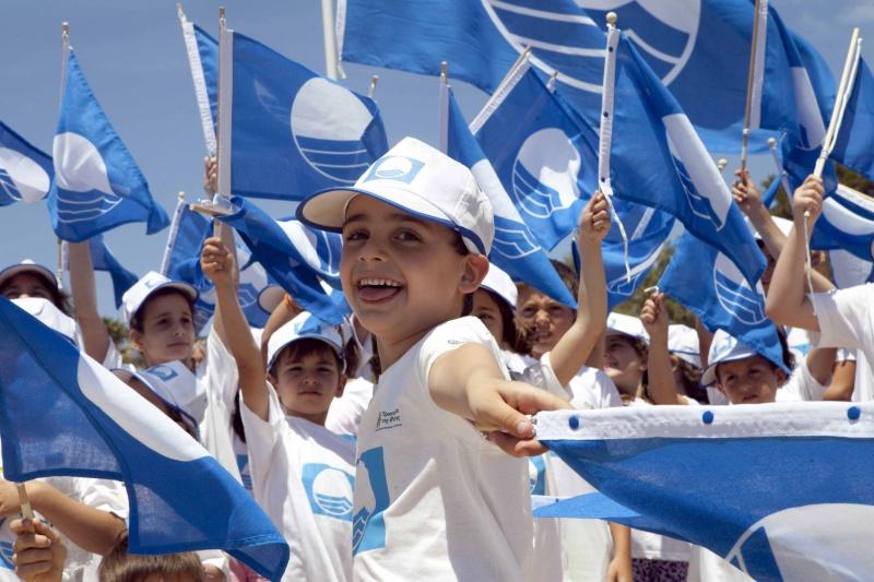Kék Zászló ünnepség