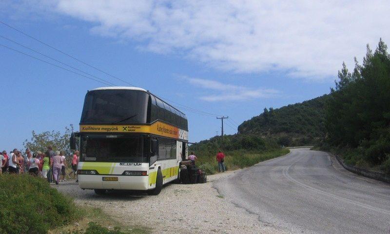 Buszos turisták