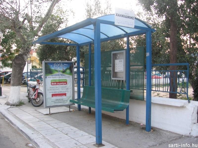 Sarti buszmegálló