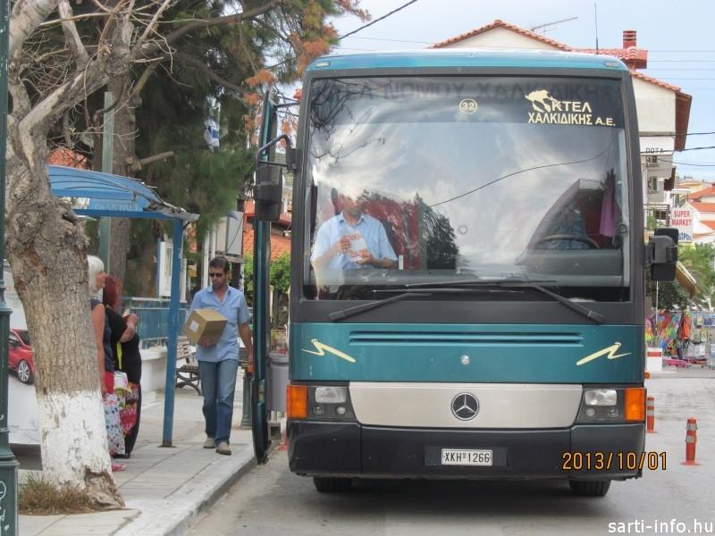 Távolsági busz, Sarti