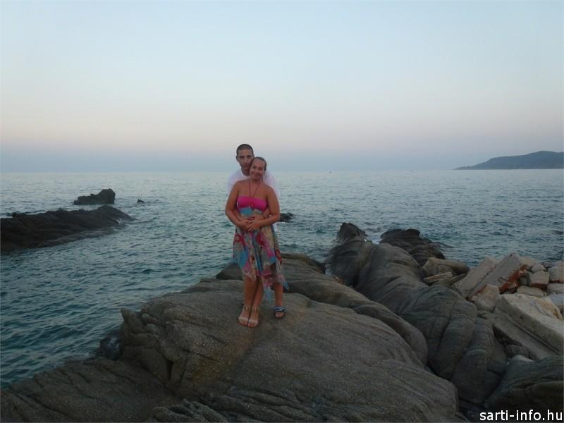 Kettesben, Sarti nászút: Kamilla fotója